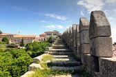 Oporto medieval wall — Stock Photo