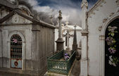Old european cemetery — Stock Photo