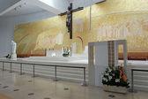 New church of Fatima altar — Stock Photo