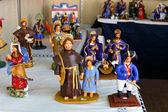 Ceramic craft figurines — Stock Photo