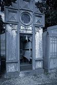 Cemetery urns — Stock Photo