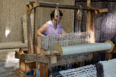 Old wooden loom  — Stock Photo