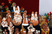 Ceramic craft figurines — Stock Photo