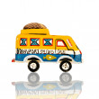 Stock Photo: Old Africtoys - Bush taxis