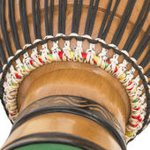 Detail of an African Djembe — Stock Photo