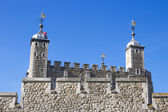 Detail of the Tower of London, UK — Stock Photo