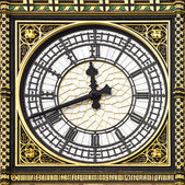 Close-up of Big Ben, Clock Tower, Westminster Palace, London — Stock Photo