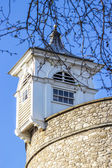 Watch turret, detail of the Tower of London, UK — Stock Photo