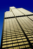 The Willis Tower in the Loop area, west facade, Chicago (Illinois) — Stock Photo