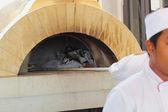 Oven pizza 's. — Stockfoto