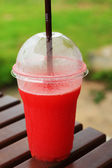 Watermelon smoothie. — Stock fotografie