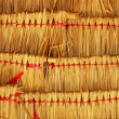 Thatched roof. — Stock Photo