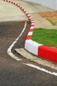 Sidewalk curb. — Stock Photo