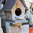 Bird house. — Foto de Stock