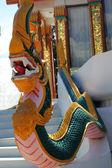 Sculpture statues - serpent. — Stock Photo