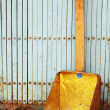 Dustpan handmade. — Stock Photo