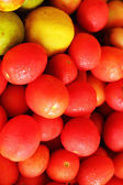 Fresh vegetables - tomatoes, lemon — Foto Stock