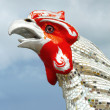 Sculptures chicken. — Stock Photo