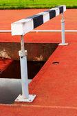 Equipamentos desportivos para o salto. — Fotografia Stock