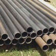 Stock Photo: Old metal pipes - for construction.