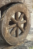 вагон колесо старого - западный стиль. — Стоковое фото