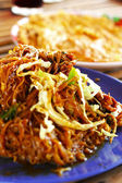 Thai food Pad thai, Stir fry noodles with pork. — Foto Stock