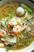 Seafood vermicelli soup - Sukiyaki — Stock fotografie