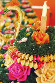 Loy Krathong festival in asia — Stock Photo