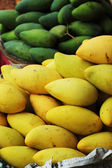 Mango fruit in the market. — Stock Photo