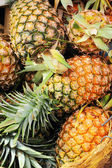 Pineapple in the market — Stock Photo