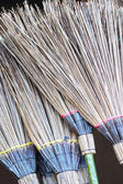 Brooms for sale in the market. — Stock Photo