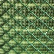 Mesh iron wire in background texture — Stock Photo