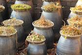 Korean ceramic pottery old traditional — Foto de Stock