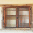 Old wooden window at the South Korea. — Stock Photo