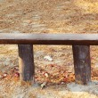 Chairs, benches - in the park. — 图库照片