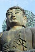 Buddha in the Sinheungsa Temple at Seoraksan National Park, Sout — Stock Photo