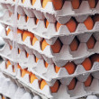 Egg farms in panel - stacked. — Stockfoto #37673579