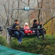 Stock Photo: Lifts gondolParks Everland, Korea.