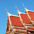 Sculpture measuring and celestial - Temple Thailand. — Stock Photo #37857195