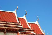 Sculpture measuring and the celestial - Temple Thailand. — Stock Photo