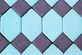 Tegel vägg bakgrundsstruktur - vintage — Stockfoto