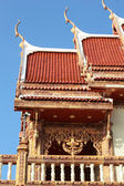 Sculpture measuring and the celestial - Temple Thailand. — Stockfoto