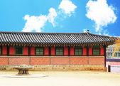 Gyeongbok Palace in South Korea — Stock Photo