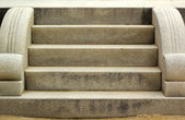 Stairs for cement traditionally beautiful. — Stock Photo