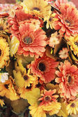Beautiful chrysanthemum of artificial flowers — Photo