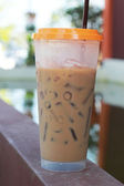 Iced coffee in the home — Stockfoto