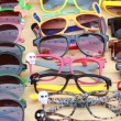 Shop colorful eyewear in market — Stock Photo #39462171
