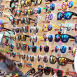Shop colorful eyewear in market — Stock Photo #39462237