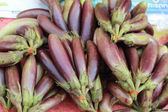 Purple eggplant in the market — Stockfoto