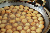 Batatas fritas estilo asia sobre la bandeja — Foto de Stock